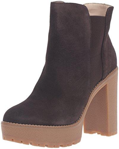 Nine West Womens idelle Boot Dark Brown