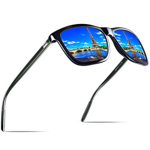 KITHDIA Mode Unisex Retro Aluminium Sonnenbrille Männer Polarisierte Linse Marke Designer