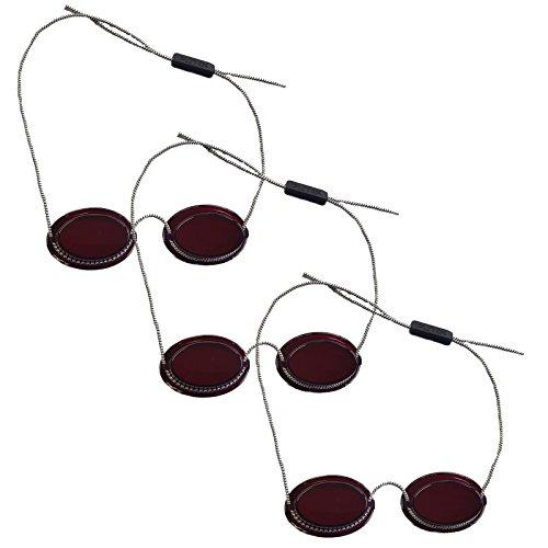 Sparpack 3 x UV-Schutzbrille für Patienten / Patienten UV-Schutzbrillen, Modell 2255