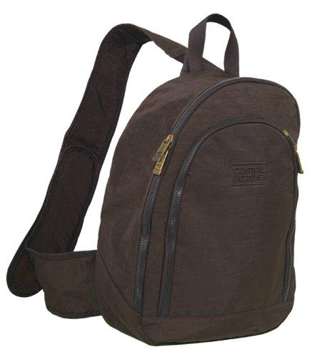 camel active Bodybag Journey, braun, 28x10x40 (Camel Rucksack)