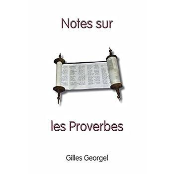 Notes sur les Proverbes