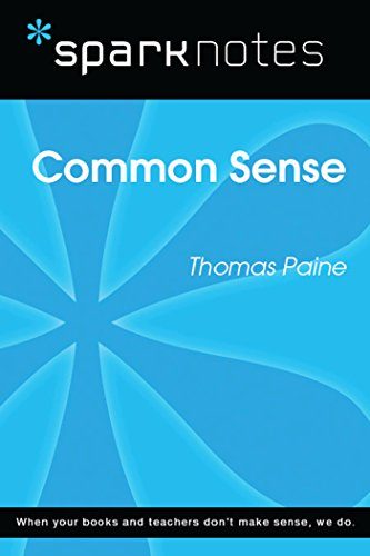 Common Sense (SparkNotes Literature Guide) (SparkNotes Literature Guide Series) (English Edition)