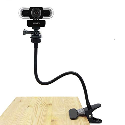 Webcam Clip, Soporte Flexible cámara Web Aukey 2K