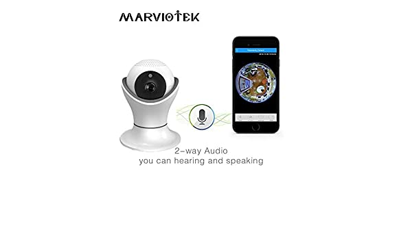 ae44d48475d Buy MARVIOTEK Baby Monitor Full HD Wireless IP Camera WiFi Baby Video  Surveillance Online at Low Prices in India - Amazon.in