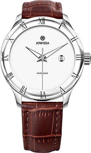Jowissa Romo Hommes Montre-Bracelet 45mm Bracelet Cuir Analogique J2.192.L