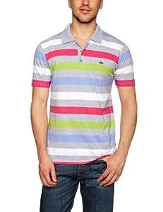 vibráfonos: Quiksilver Kine Vibráfono hombres camiseta Gris Calor Gris Claro Medium