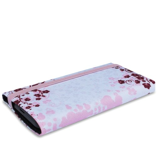 Stilbag Tasche 'MIKA' für Apple iPhone 4/4S - Design: Fairy Tree Rose Flowers