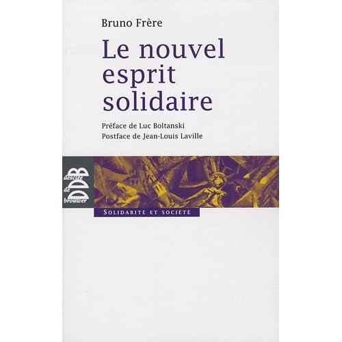 Le nouvel esprit solidaire