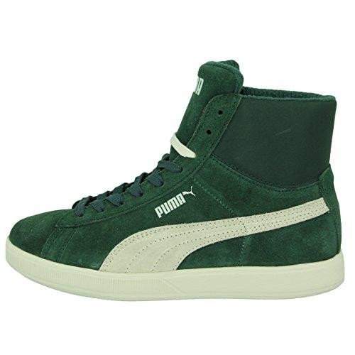 Puma ARCHIVE LITE MID SUEDE Grun Wildleder Unisex Sneakers Schuhe Neu Grün
