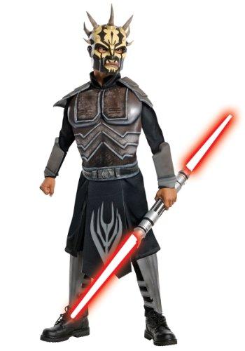 Star Wars Savage Opress Deluxe Kostüm Kinder Kinderkostüm Darth Maul Gr. S - L, Größe:L