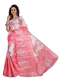 Sarees New Diwali Collection Latest Of 2017 By SVB Printed Sarees Women's Bhagalpuri Art Silk Saree Without Blouse...