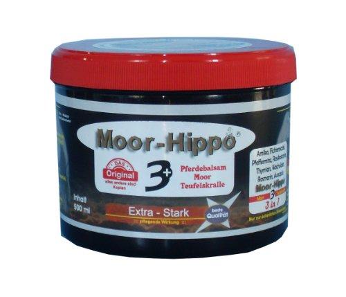 Moor - Hippo 3 Pferdebalsam mit Moor und Teufelskralle 500 ml