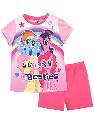Mein Kleines Pony Mädchen My Litttle Pony Schlafanzug Rosa 110 (Pony My Schlafanzug Little)