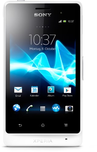 Sony Xperia go Smartphone (8,9 cm (3,5 Zoll) Touchscreen, 5 Megapixel Kamera, Android 2.3) weiß Sony Outdoor Kamera