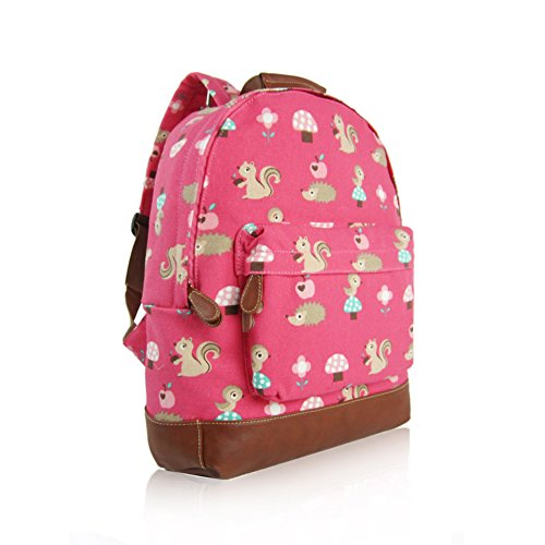 Craze London, Borsa a zainetto donna Fuchsia