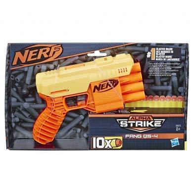 Nerf E6973 Alpha Strike Fang QS-4 Blaster