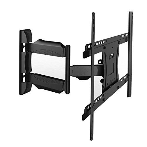 Preisvergleich Produktbild Invision® Ultra-dünne TV Wandhalterung mit 20 Zoll Auslegerarm / 1, 8-Zoll Wandprofil Neig- und Schwenkbar für die Meisten 26 - 55 Zoll LED LCD Plasma 3D & 4K - Bildschirme (HDTV-XL)