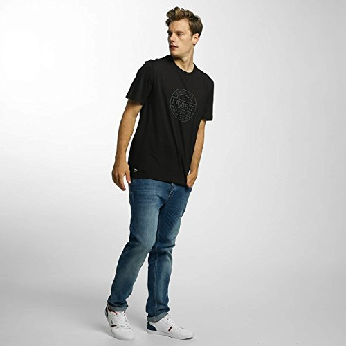 Lacoste Herren T-Shirt - TH1176 Black (031)