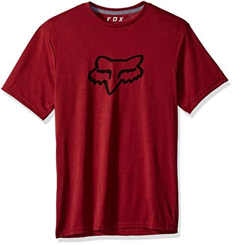 Fox Herren Tournament Short Sleeve Trudri Tech Premium T-Shirt, Red, 2X -