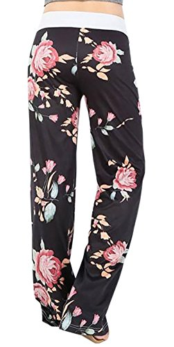 Smile Fish Damen Hose Schwarz