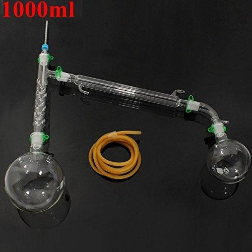 1000 Vakuum (Calli 1000ml Vakuum Destillation Extrakt Kit 20/40Gelenk Lab Gläser Set)