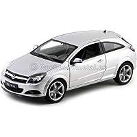 2005 Opel Astra GTC Gris Metalizado 1:18 Welly 12563
