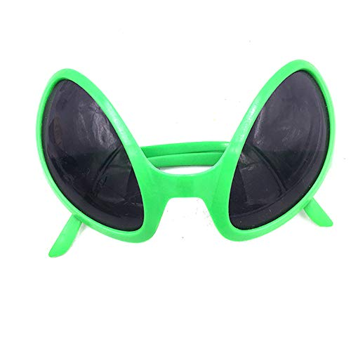 Halloween Deko Grusel Dekoration Set Halloween Alien Brille 1 Packung für Halloweendeko Make-up-Party Halloween Dekoration