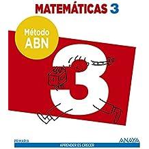 Matemáticas 3. Método ABN. - 9788467862560