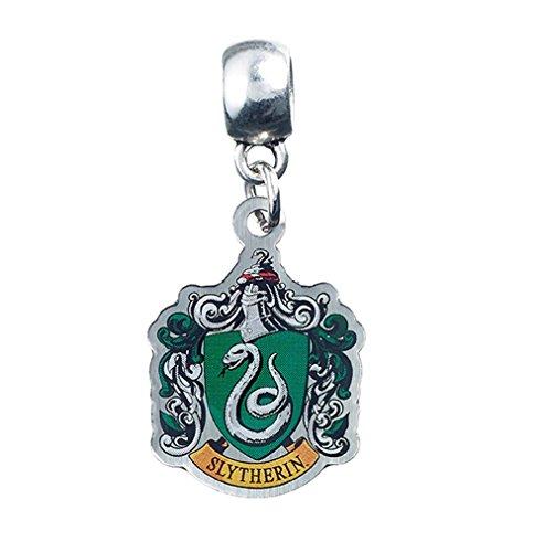 Harry Potter Charm Anhänger Slytherin Wappen Slider Schmuck (Slider Charm Schmuck)