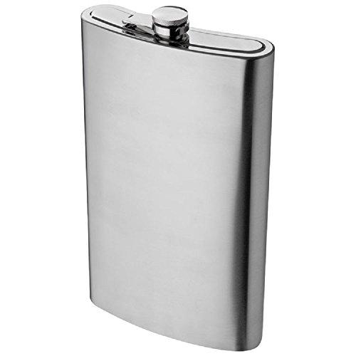 XXL Flachmann aus Edelstahl 1,8 Liter Fassungsvermögenideales Geschenk für alle Outdoorfans