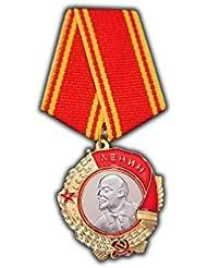 Orden de Lenin Medalla Soviética URSS mayor Militar Premio para ejemplar Servicio de reproducción de envejecido