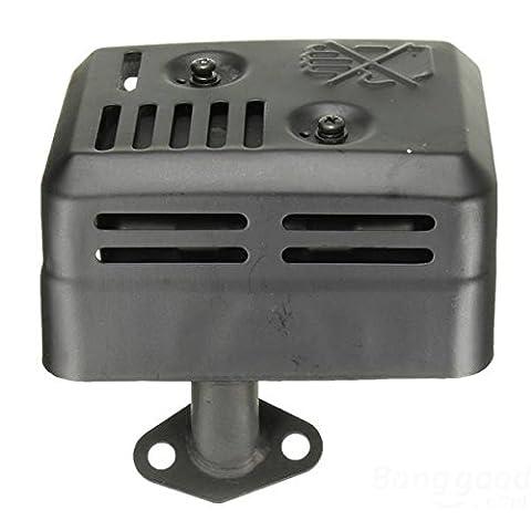 [Envoi Gratuit] d'échappement silencieux avec bouclier thermique pour Honda GX160 200 5,5 6,5 HP // Exhaust Muffler With Heat Shield For Honda GX160 200 5.5 6.5 HP