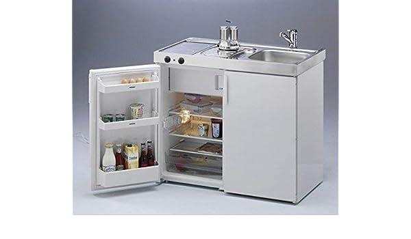 Miniküche Mit Kühlschrank Und Herd 120 Cm : Stengel miniküche kitchenline mkc ceran links amazon