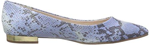 ESPRIT Damen Idris Python Geschlossene Ballerinas Blau (410 bright blue)