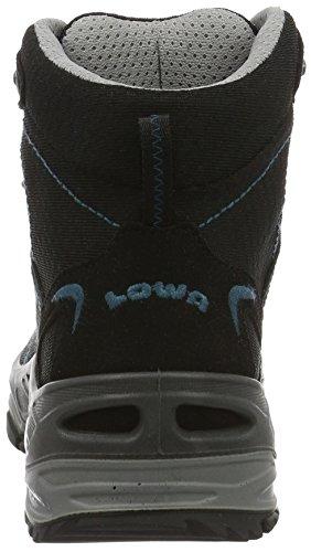 Lowa Ferrox Gtx, Scarpe da Escursionismo Donna Nero (Schwarz/Petrol)