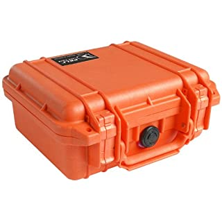 Peli 1200 mit Schaum, Orange