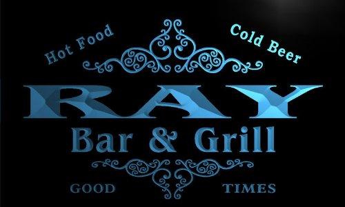 u36854-b RAY Family Name Bar & Grill Home Brew Beer Neon Sign Barlicht Neonlicht Lichtwerbung