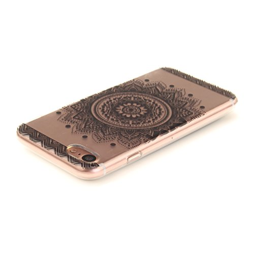 A9H iPhone 7 Hülle mit Kameraschutz transparent dünne Schutzhülle Case Cover für Apple iPhone7 ( 4,7 ) aus flexiblem TPU -15HUA 15HUA