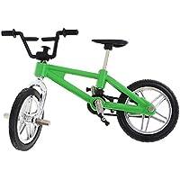 Gazechimp Mini Modelo de Bici de Dedo de Aleación Decoración de Colección Regalo de Niño - Verde