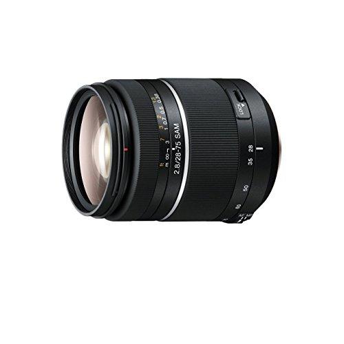 rd-Zoom-Objektiv (28-75 mm, F2,8 SAM, A-Mount Vollformat geeignet für A99 Serie) schwarz (Zoom-objektiv Für Sony A57)