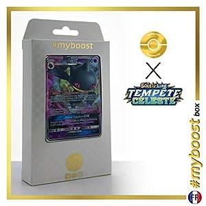 Branette-GX (Banette-GX) 66/168 - #myboost X Soleil & Lune 7 Tempête Céleste - Box de 10 Cartas Pokémon Francés