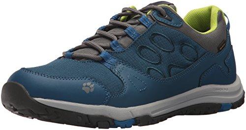 Jack Wolfskin ,  Scarponcini da Camminata ed Escursionismo Uomo, Blu (Poseidon Blue), 48 EU