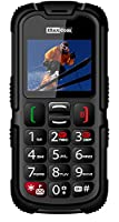 Unlocked Heavy Duty Rubber Coated Big Button Mobile Phone With Sos Button MM910