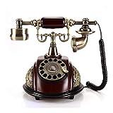 Corded Phones Antique Telephone Set European Complex Antique Fashion Telephone Set Home Fixed