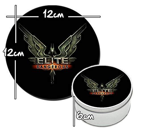 MasTazas Elite Dangerous Caja Redonda Lata Round Metal Tin...