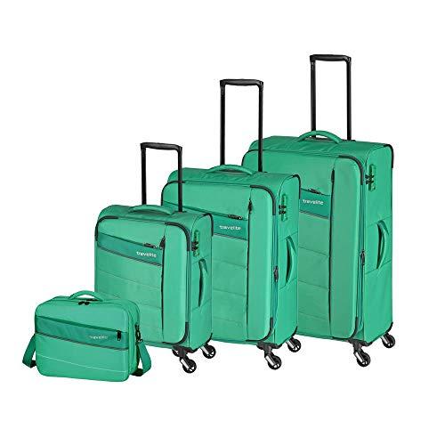 Travelite estremamente leggera:'kite' - Trolley classico sportivo, borse da viaggio e borse di bordo, 75 cm, verde erba (Verde) - 089940-83
