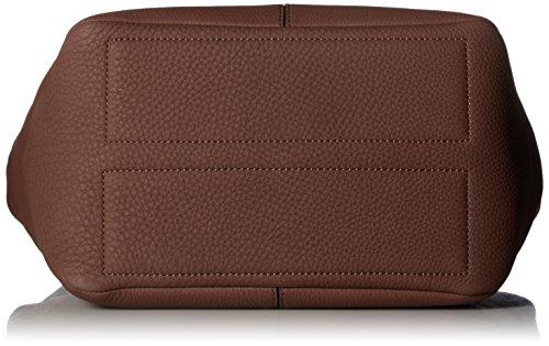 Ecco Damen Jilin Hobo Bag Schultertasche, 16 x 30 x 40 cm Braun (Brown)