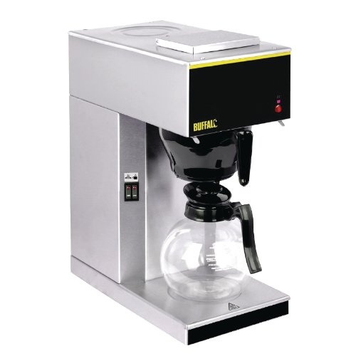 Buffalo Coffee Machine 465X205X385mm Espresso Drinks Maker Restaurant,Silver