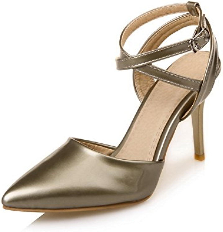 Sconosciuto 1TO9, Sandali con Zeppa Donna, oro (oro), 35 EU   prezzo di sconto speciale    Scolaro/Ragazze Scarpa