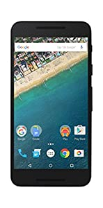 LG Electronics Nexus 5X 32 GB UK SIM-Free Android Smartphone - Black (Certified Refurbished)
